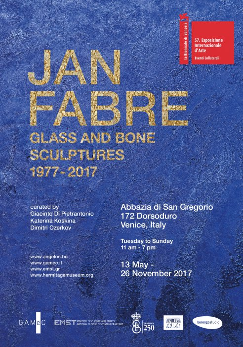 Jan Fabre. Sculptures de Verre et d�Os 1977-2017